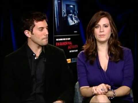 Paranormal Activity Interview with Micah and Katie