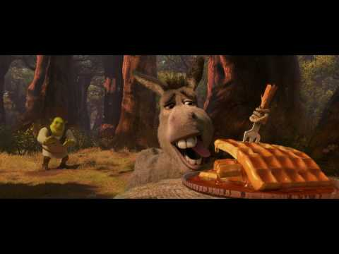 'Shrek Forever After' Clip - Waffles in the Forest