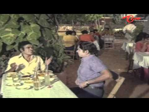 Rajababu Superb Comedy With ANR At Hotel