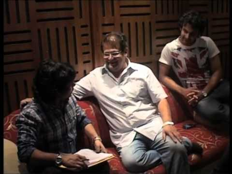 Dubhang Title song making - by Kailas kher