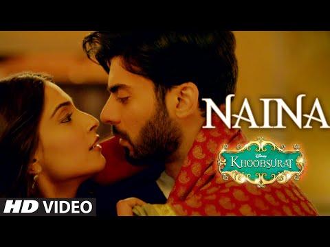 'Naina' VIDEO Song | Sonam Kapoor, Fawad Khan, Sona Mohapatra | Amaal Mallik | Khoobsurat
