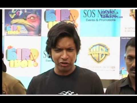 Kailash Kher and Shaan at the Music launch of 'Bird Idol'