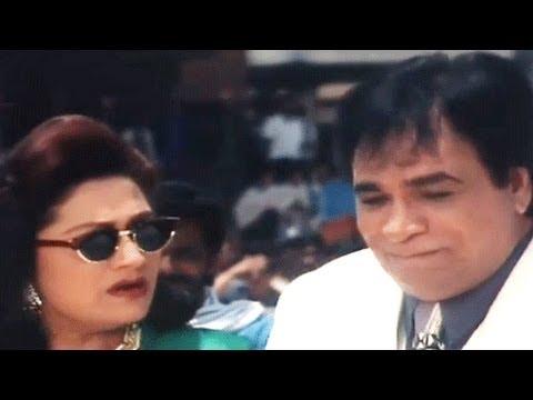 Govinda with Kader Khan's Daughter - Banarasi Babu