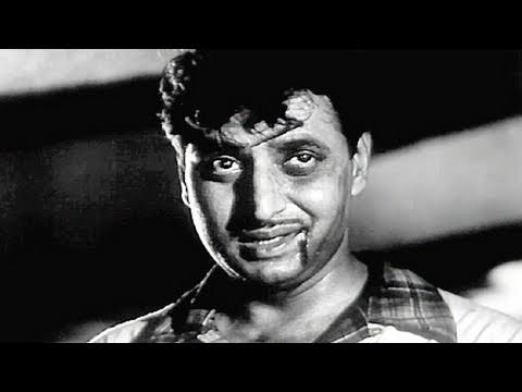Kishore Kumar in action against Pran - Pehli Jhalak Scene 13