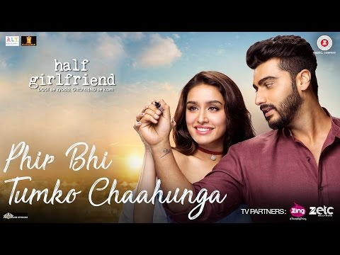 Phir Bhi Tumko Chaahunga | Half Girlfriend | Arjun K,Shraddha K | Arijit Singh, Shashaa T | Mithoon