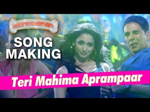 Teri Mahima Aprampaar Song Making - Entertainment Behind the Scenes