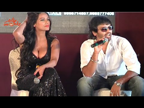Poonam Pandey's Malini And Co Movie Press Meet