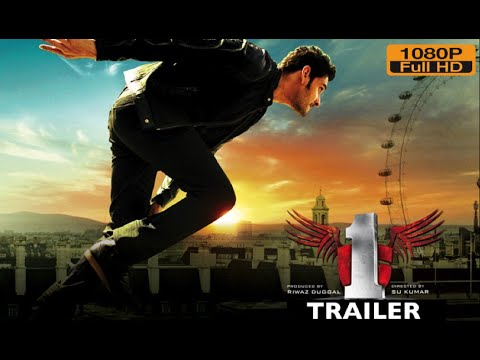 Ek Ka Dum - 1 Official Movie Trailer | Mahesh Babu, Kriti Sanon | 1 Nenokkadine Hindi Trailer