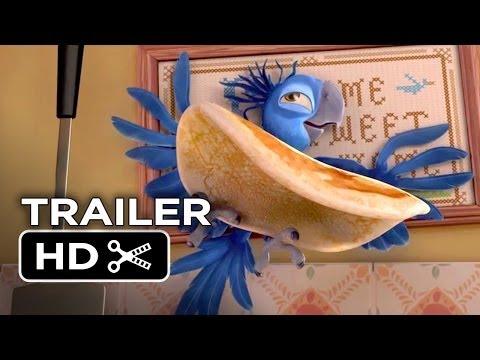 Rio 2 TRAILER - Migration Vacation (2014) - Anne Hathaway, Jesse Eisenberg Movie HD