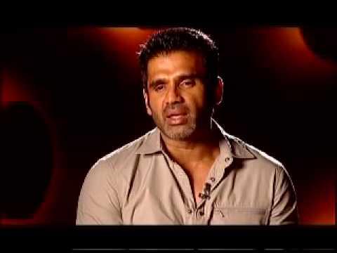 Suniel Shetty promote 'Red Alert'