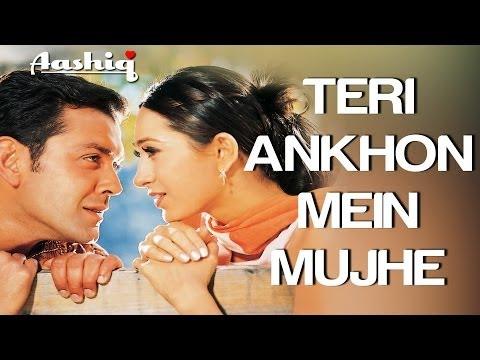 Teri Ankhon Mein Mujhe - Aashiq   Full Song HQ