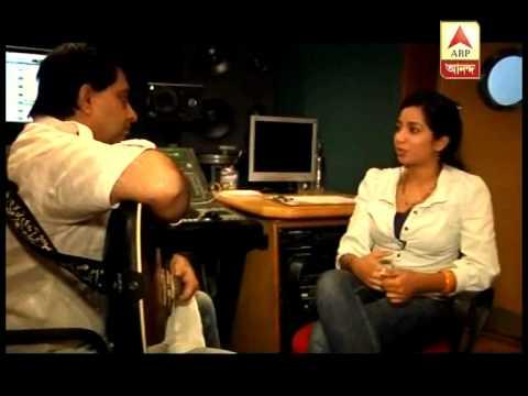 Recording of song - Bengali movie EKLA AAKASH