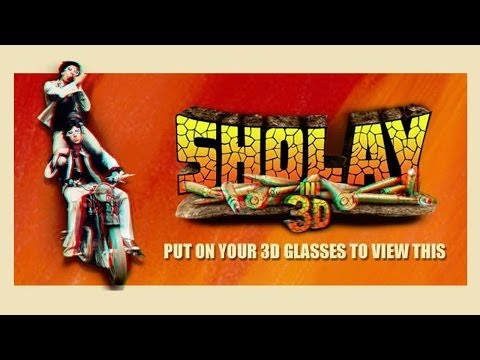 Sholay Official Trailer with 3D effect