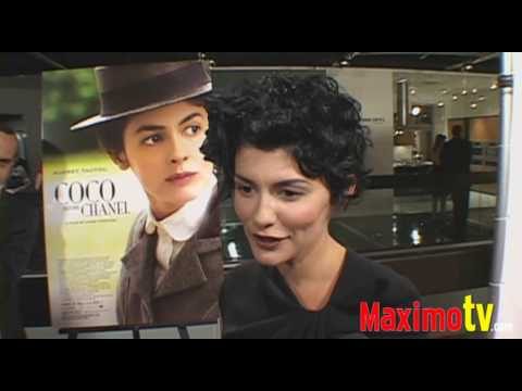 COCO BEFORE CHANEL' Movie Premiere Audrey Tautou September 8, 2009