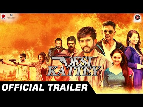 DESI KATTEY OFFICIAL TRAILER   Suniel Shetty, Jay Bhanushali, Sasha Agha & Akhil Kapur