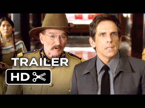 Night at the Museum: Secret of the Tomb Official Trailer #2 (2014) - Robin Williams HD