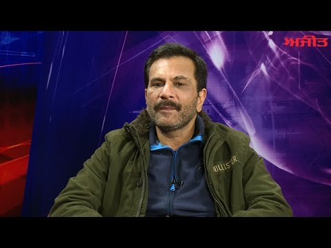 Pawan Malhotra, Main Artist of Punjabi Movie 'Eh Janam Tumhare Lekhe' on Ajit Web TV.