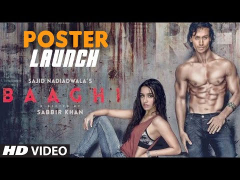 BAAGHI Movie Poster Launch