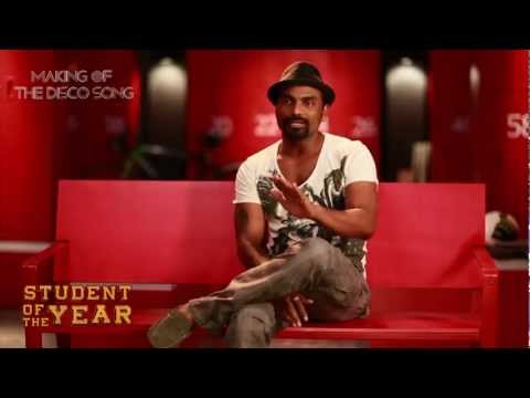 Student of the Year - Making of The Disco Song HD