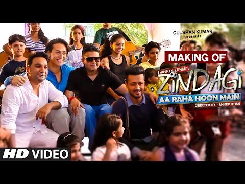 Making of 'Zindagi Aa Raha Hoon Main' VIDEO Song | Atif Aslam, Tiger Shroff