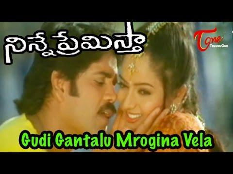 Ninne Premistha - Nagarjuna - Soundarya - Gudi Gantalu