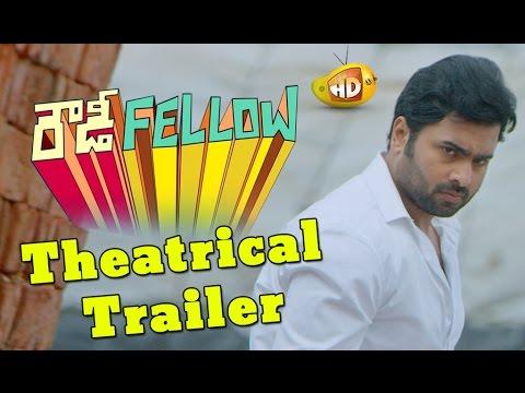 Rowdy Fellow Theatrical Trailer - Nara Rohit, Vishakha Singh, Krishna Chaitanya
