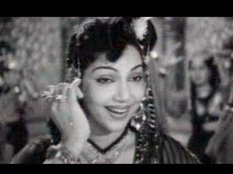 Kangalil Aadidum - Tenali Raman Tamil Song - Bhanumathi