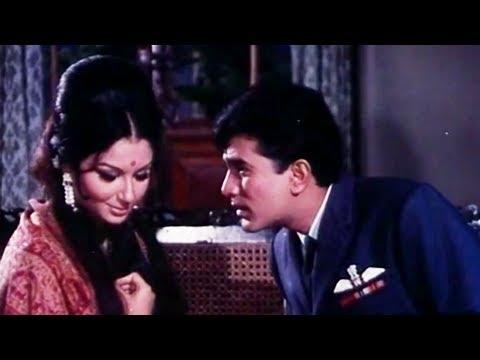 Aradhana - Romantic Scene - Sach Hoga Mera Sapna - Rajesh Khanna & Sharmila Tagore