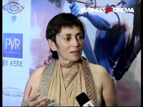 premiere of animation film Ramayana - The Epic