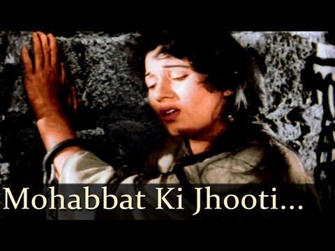 Mohabbat Ki Jhooti Kahani - Mughal - E - Azam - Lata Mangeshkar