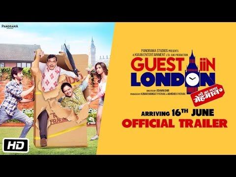 Guest iin London   Official Trailer   Paresh Rawal, Kartik Aaryan, Kriti Kharbanda, Tanvi Azmi
