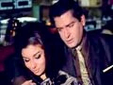An Evening In Paris - Bollywood Movie - Shammi Kapoor & Sharmila Tagore