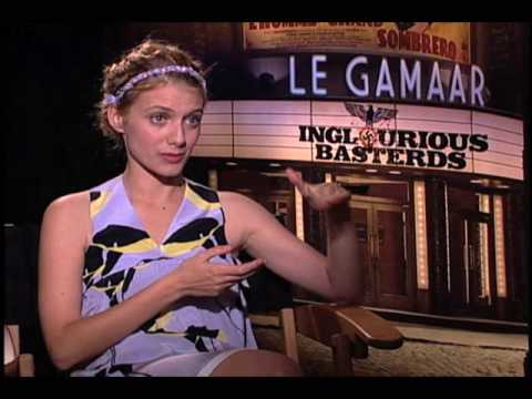 Inglorious Bastards (2009)- Melanie Laurent Interview