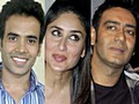Kareena Kapoor - Ajay Devgn talk about their new Hindi comedy Golmaal 3