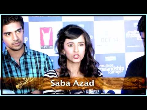 Tara D'Souza at 'Mujhse Fraaandship Karoge' music launch