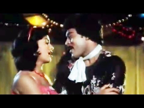 Andagattey Aata - Goonda - Chiranjeevi & Radha