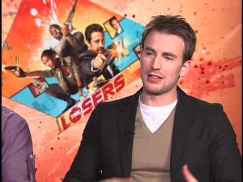 The Losers Junket Interview Chris Evans