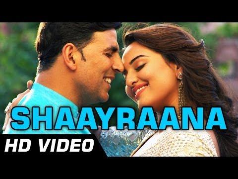 Aaj Dil Shaayraana Official Video | Holiday | ft Arijit Singh | Akshay, Sonakshi Sinha | 1080p