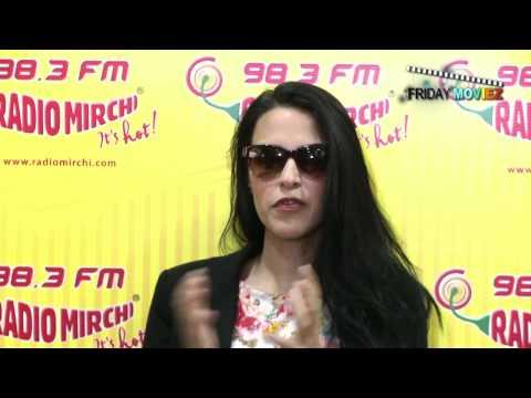 Neha Dhupia Promotes Gandhi to Hitler at Radio Mirchi