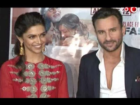 Saif & Deepika promote Aarakshan on KBC