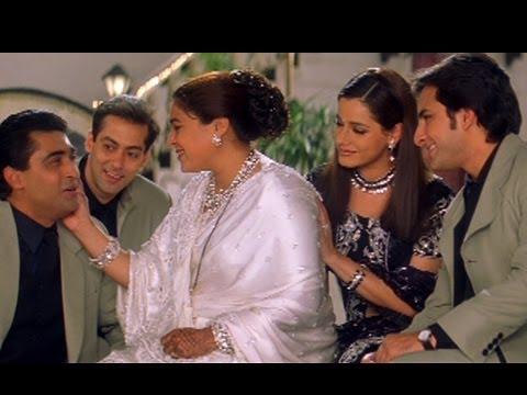 Yeh To Sach Hai - Mohnish Behl, Salman Khan, Saif & Tabu - Hum Saath Saath Hain
