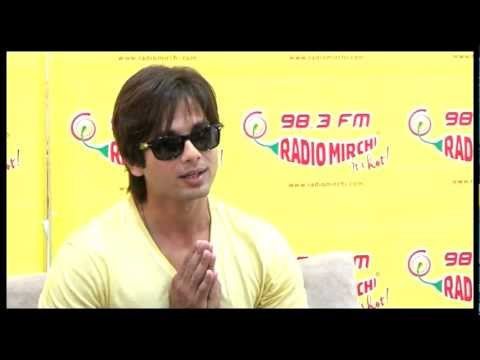 Shahid Kapoor on Mausam - at Radio Mirchi