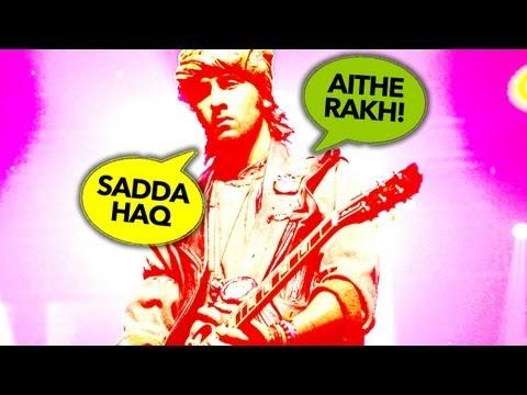Ranbir - Nargis promote Rockstar at MMK college