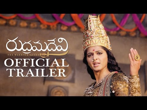 Rudhramadevi Official Trailer 2 || Anushka, Allu Arjun, Rana, Gunasekhar