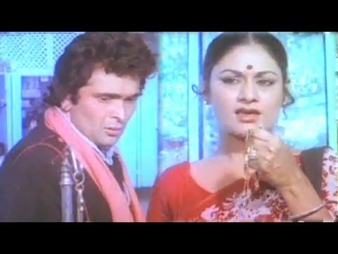 Aruna Irani helps Rishi Kapoor - Sargam