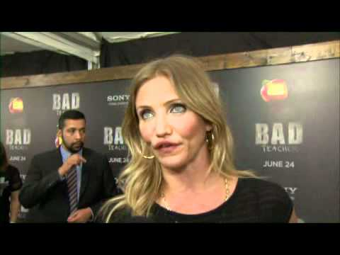 Cameron Diaz at the premiere of BAD TEACHER