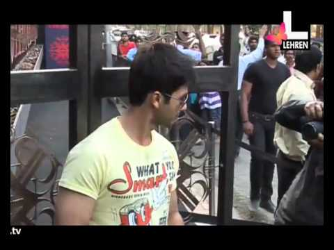 Shahid Avoids 'Saat Khoon Maaf'