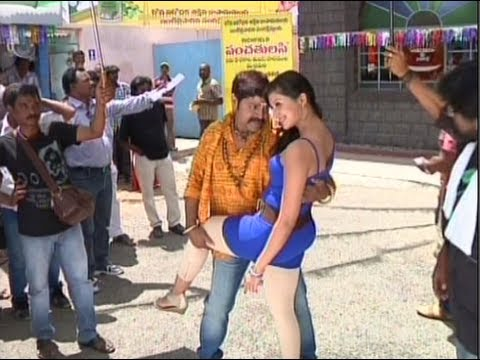 Tea Samosa Biscuit Telugu movie making - Srihari, Hamsa Nandini