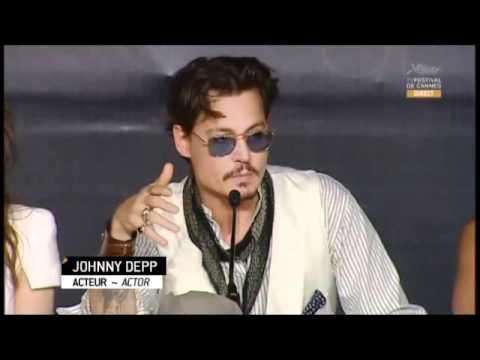 Pirates of the Caribbean: On Stranger Tides - Cannes Press Conference
