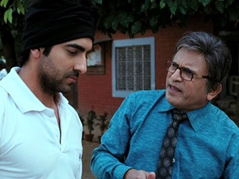 When Ayushmann became father - Vicky Donor